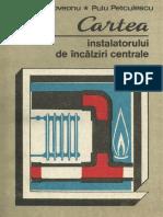 Cartea Instalatorului de Incalziri Centrale