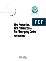 Fire Protection Fire Prevention and Fire Control Regulations