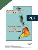 Calvo y Ureta. América Latina Hoy. Y Hasta Cuándo