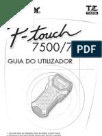 Manual Eiquetadoras Mod. PT7500_PT7600