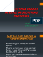 Part Building Errors in Rp