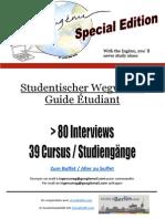 Studentischer Wegweiser / Guide étudiant Ingénu