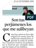 Quim Monzó. Son Tus Perjúmenes Los Que Me Sulibeyan