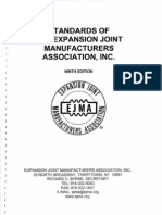 Standards of the Expansion Joint Manufaturers Association