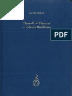 78952225 Three Vow Theories in Tibetan Buddhism