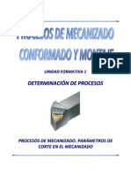 Uf1 1 Determinacion Procesos Para Metros Corte