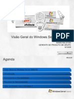 1 - Windows Server 2008 R2 Overview - Visao Geral