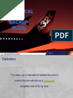 a320 Mech Backup