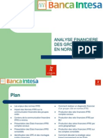 Analyse financière en normes ifrs
