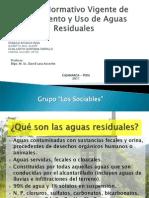 Marco Normativo Vigente en Vertimiento y Uso de Aguas Residuales