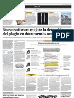 Nuevo software mejora la detección del plagio en los documentos académicos