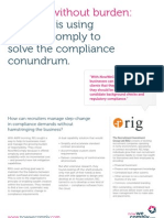 NowWeComply Case Studies - Recruitment Investment Group, May 2012