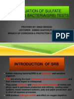 Srb & Tcb Tests Evaluation ,