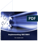 Implementing ISO 9001
