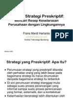 Mazhab Strategi Preskriptif