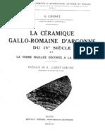 G. Chenet La sigillée d'Argonne du IVe s.