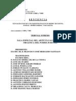 Sentencia Ilegalización Batasuna