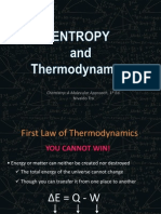 Free Energy and Thermodynamics