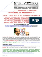 Hindu Religious Mark on the Forehead 02-Priest Wears