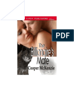 Cooper McKenzie - The Billionaire's Mate