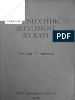 Dumitrescu - Late Neolithic Settlement at Rast