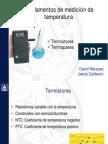 Termistores y termopares