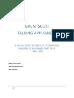 Great SCOT-Talking Appliances