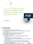 Taller Sistema Retención ISR Asalariados - Enero 2012 (Material Final)