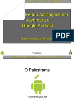 Desenvolvendo AplicaçõEs Para o Google Android