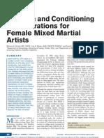 Female Mma Training Article