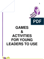 Games and Activities for Young Leaders