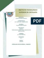 Unidad 3 Tecnologias de Conectividad a Base de Datos