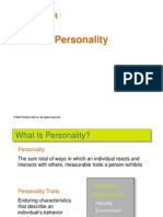 Defence Personality