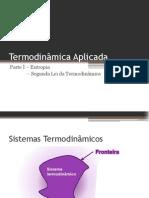 Termodinâmica Aplicada - parte I