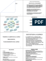 CURSO DE FISICOQUÍMICA INGENIERIA QUIMICA-2012