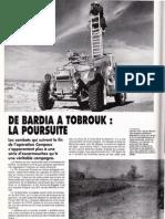 De Bardia a Tobrouk. La Pour Suite. Yves Buffetaut