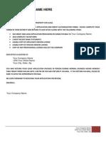 Online Lease Application Full Form PDF