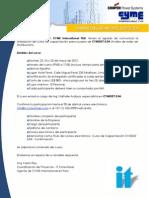 InvitacionCursoCYMDIST2012