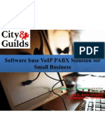 Software Base VoIP PABX Solution for Small Business