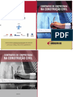 Cartilha Contratos de Empreitada na Construção Civil 2010