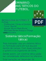 SEMINÁRIO futebol