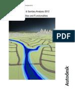 AutoCAD Civil3D 2012 Storm Sanitary Analysis Technical Capabilities