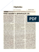 CRISE MUNDIAL E GLOBALIZAÇÃO (II) ojornaldehoje07out.11