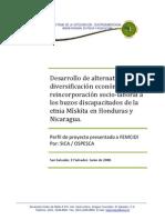 5.3 Diversificacion Economica Buzos Discapacitados Honduras Nicaragua