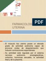 Farmacología Uterina