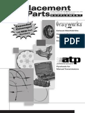 ATP Automotive Graywerks 102127 Engine Harmonic Balancer