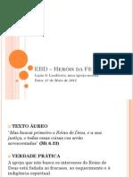 EBD – Heróis da Fé