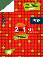 """2za1.si, maj 2012 - nov 2012, osrednja Slovenija - knjiga kuponov """"dva za ena"""""""