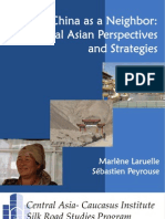 China as a Neghbour Central Asia Perspectives