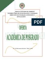 Catalogo de Posgrado 2011